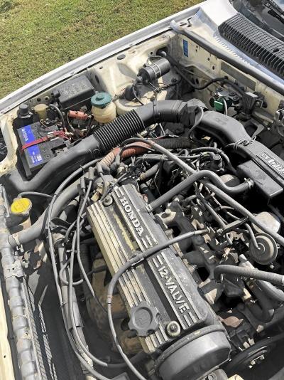 Sällsynt Vintage Honda Prelude 1800 Vit