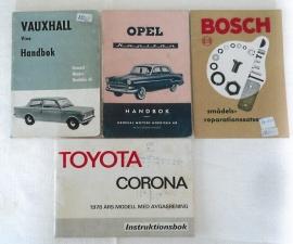Litteratur bilar