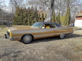 Chrysler New York Brougham i TOPPSKICK