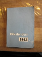 Bilkalendern 1962