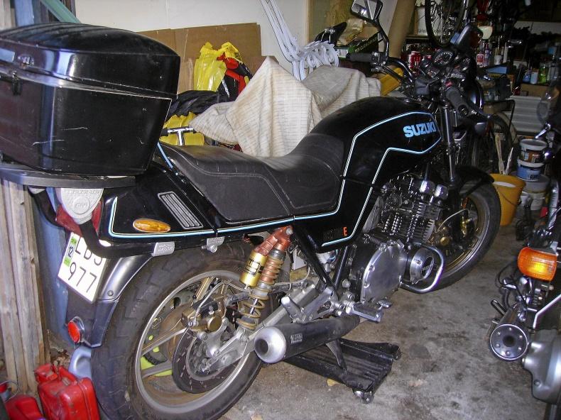 SUZUKI GSX 1100E 1983