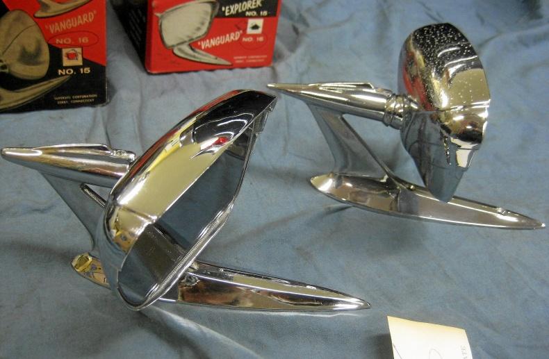 Cadillac Custom Backspeglar 1950 tal After Market