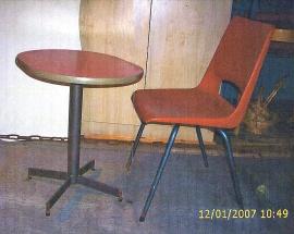 Stol och bord