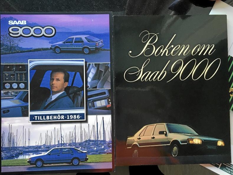Boken om SAAB 9000