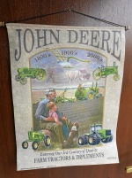 Tygaffisch John Deere