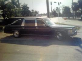 Begravningsbil.