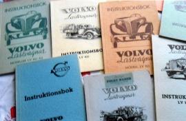 Volvo instruktionsböcker
