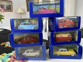 Tintin bilar