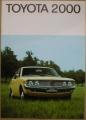 Broschyr Toyota Corona Mk II 1972