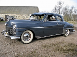 1950 Chrysler Windsor Coupé – 10650 MIL