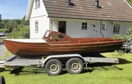 Ny-gammal träbåt, 60-tal
