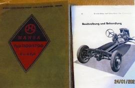 Hansa och Goliath Reservdelskatalog, böcker