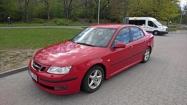 Saab 9-3 Sport Sedan Vector Flexifuel