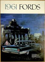 Broschyr Ford 1961