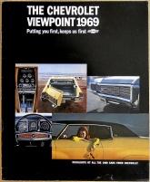 Broschyr Chevrolet 1969