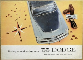 Broschyr Dodge Coronet Royal Custom Royal 1955