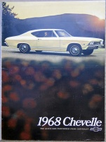 Broschyr Chevrolet Chevelle 1968