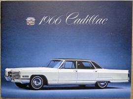 Broschyr Cadillac 1966