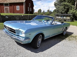 Ford Mustang Cab 289ci