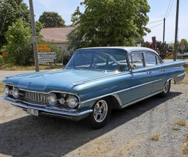 Oldsmobile ninety eight four door sedan