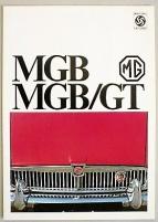 Broschyr MG MGB GT 1969