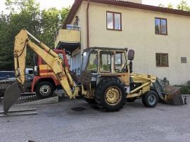 Traktorgrävare Ford 4550