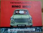 Broschyr BMC Morris 1100 1965