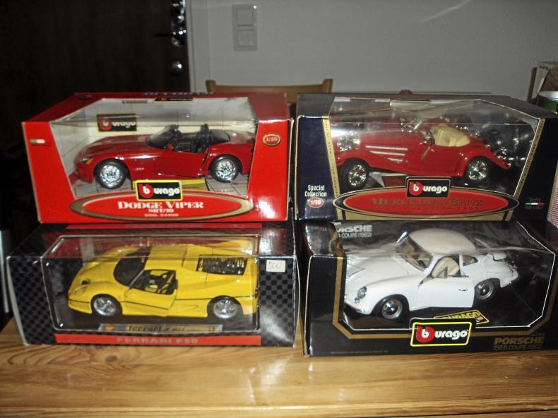 1:18 Sportbilar fr. 350 kr