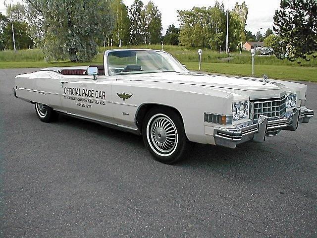 Cadillac Eldorado Convertible-1973  Pace Car