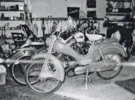 Victoria DKW mopeder