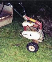 Trägårdstraktor