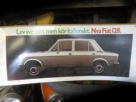 Fiat reklamskylt
