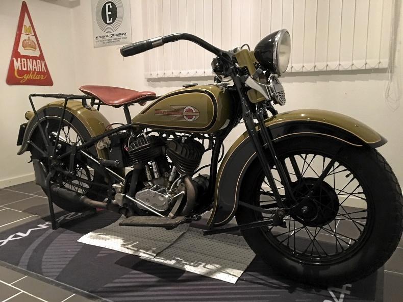 Harley-Davidson 1936 45 cu flathead
