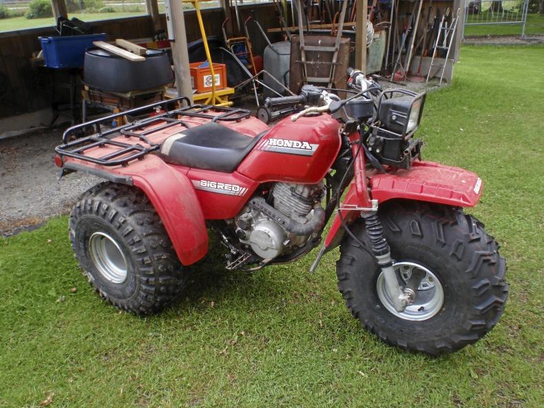 Honda ATC BIg RED