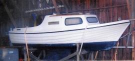 Ruffad segelbåt