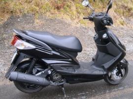 Yamaha 125 Cygnus