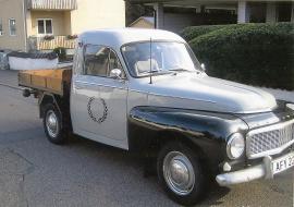Volvo Duett flak