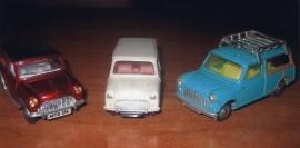 Dinky Corgi modellbilar