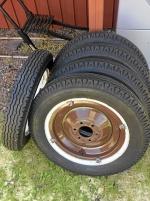 Däck 4.75/5.00 -19, Motor Chevrolet 1930