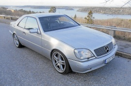 Mercedes-Benz 500 coupe