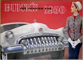Broschyr Buick 1950