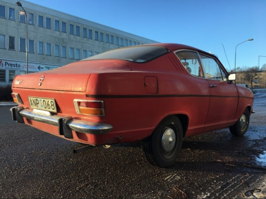 Opel Kadett Coupé L