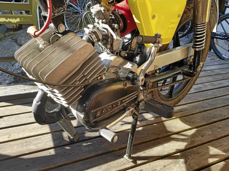 REX Comet Grand Prix EKF motor