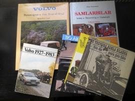 Volvo-böcker m.fl.