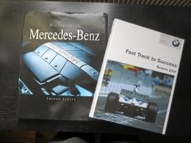 Böcker Mercedes historia och BMW Formula 1
