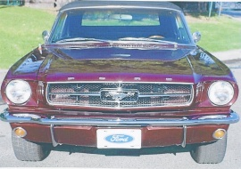 Ford Mustang cab