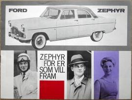 Broschyr Ford Zephyr 1960
