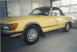 mobile_Mercedes Benz 350SL