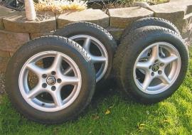 Alu-hjul till Volvo 240