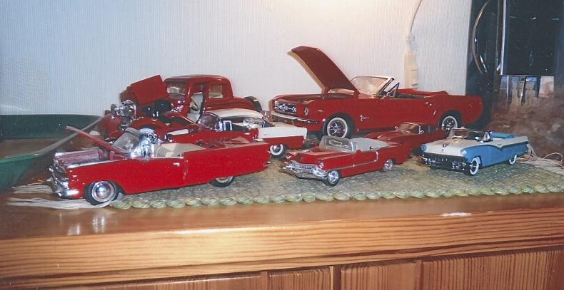Modellbilar nyskick